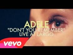 Adele - Don't You Remember Letra